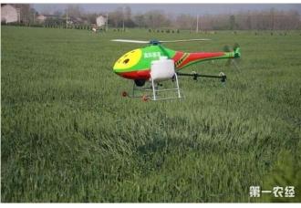 安徽阜阳颍泉区:2架植保无人机喷洒农药