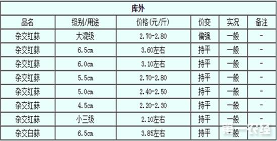 2017年7月18日邳州大蒜最新价格行情