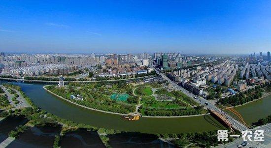 """泗洪县加大城市园林绿化建设 获""""国家园林县城""""命名"""