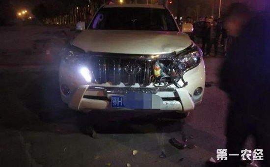 男子醉驾且超速 追尾摩托车致1人死亡
