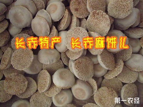 长赤三绝之一:长赤麻饼