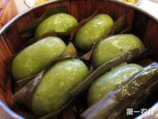 四川传统特色小吃:叶儿耙