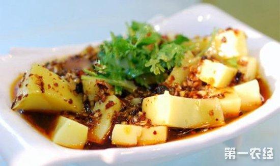 贵州铜仁特色小吃:米豆腐个个