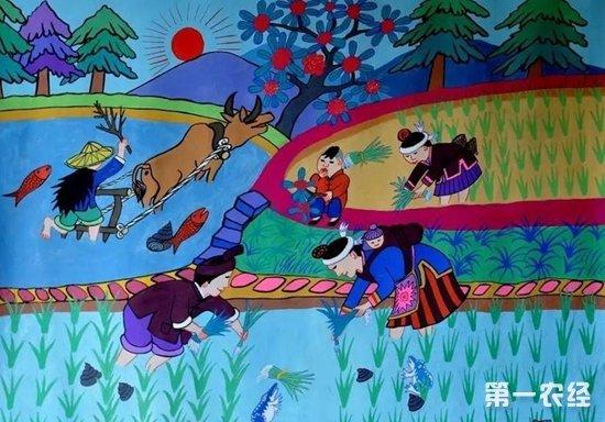 广西三江:农民画画出村民增收致富蓝图
