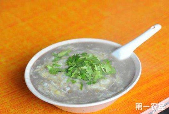 山东临沂传统名吃:SA(糁)汤