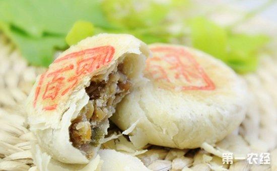 江苏苏州传统特产:苏式月饼