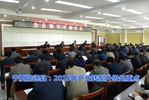 宁夏固原隆德县:2015年产业转型升级是重点