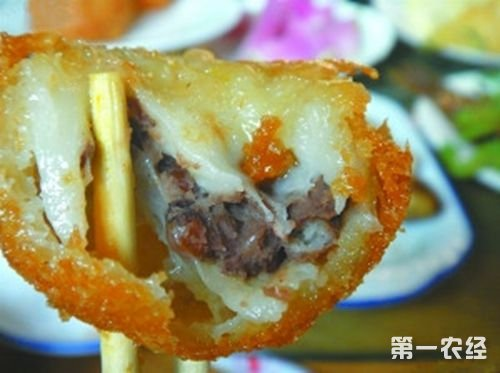 北京延庆特产水磨炸糕