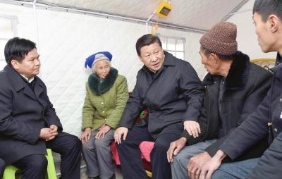 习近平:新农村建设注意乡土味道 保留乡村风貌