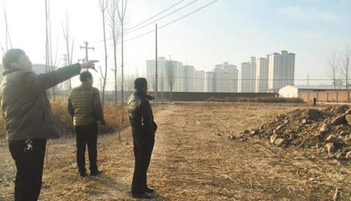 <b>村民的数十亩地被长期非法侵占</b>