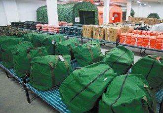 阳泉投放储备物资 丰富节前市场