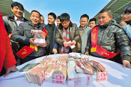 村集体年收入由10万增至120万