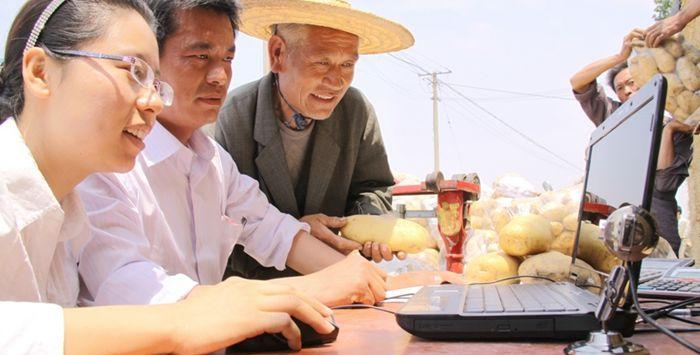 """河南汝南农民""""触网"""",农产品电商年收入8000万!"""