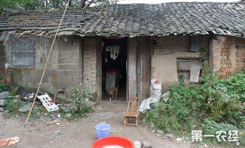 農村在住的破落房子是改造重點