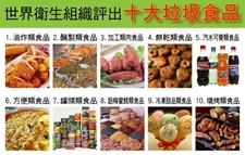 """世卫组织否认公布""""十大垃圾食品名单"""""""