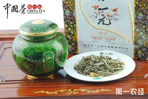 北京特产老字号名茶:张一元茉莉花茶