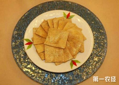 安徽铜陵特产:大通茶干