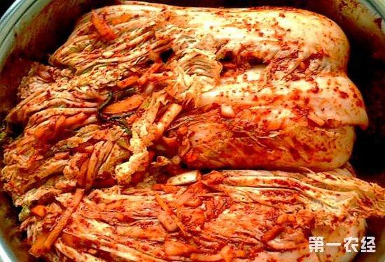 吉林延边特产:延边辣白菜