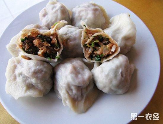 天津特产小吃:猫不闻饺子