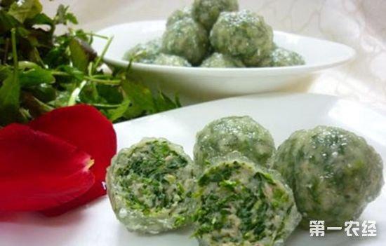 安徽芜湖特产小吃:芥菜圆子