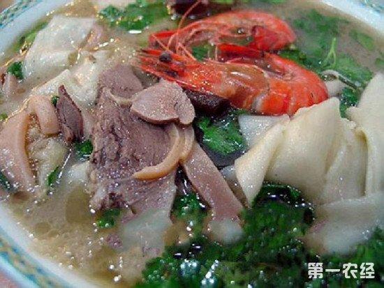 河南驻马店著名小吃:潘记烩面