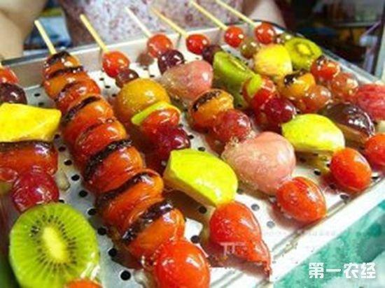 辽宁沈阳特色小吃:老高太太糖葫芦
