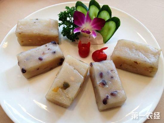 上海土特产:五芳斋糕团