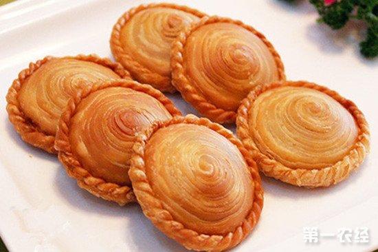 江苏宿迁特产美食:车轮饼