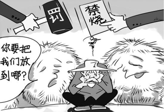 江苏省镇江开首张大气污染罚单---焚烧秸秆