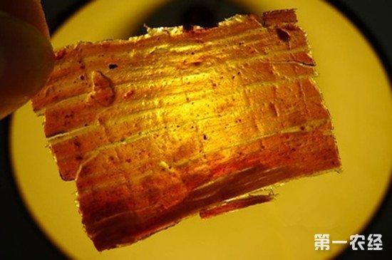 四川达州美食:灯影牛肉