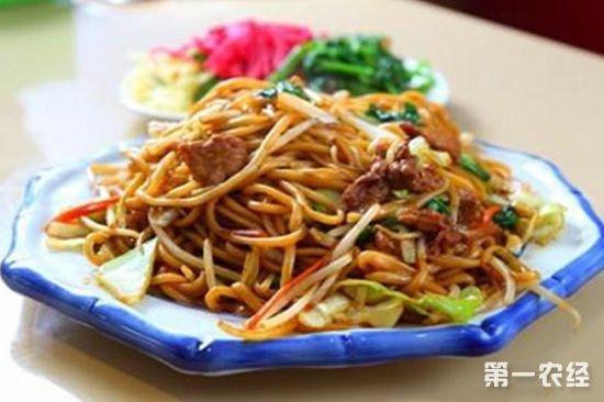 河南焦作美食:孟州炒面