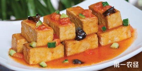 山东淄博特产美食:豆腐箱