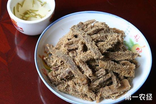 四川自贡特产美食:自贡毛牛肉