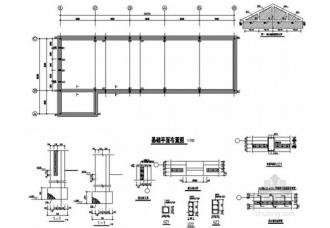 砖混鸡舍结构设计图整体效果