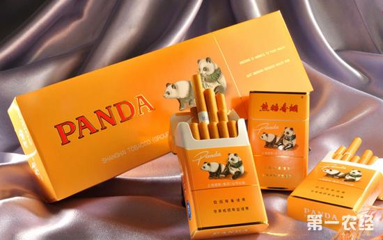 上海特产香烟 熊猫牌香烟高清图片