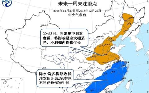 最新农业气象预报(图片)