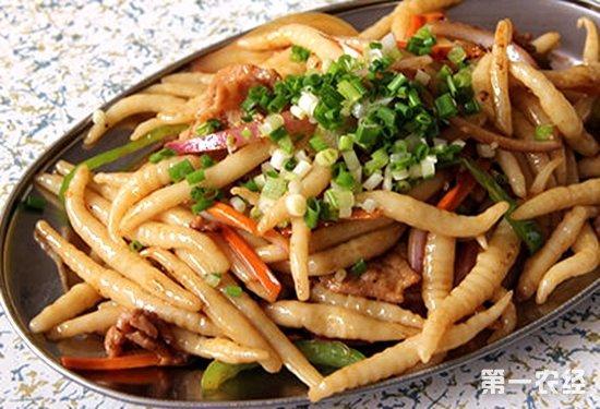 黄阿婆家炒粉虫,南宁美食,炒粉虫,广西特产,炒粉虫的做法
