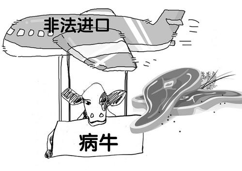 """绍兴检疫局查获餐厅售卖非法进口的印度""""问题""""牛肉"""