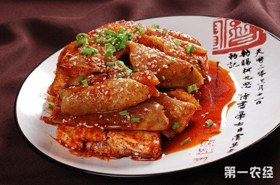 陕西汉中特产:宁强麻辣鸡(图片)