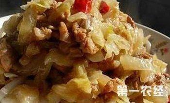 内蒙古巴彦淖尔乌拉特前旗特产:猪肉烩酸菜(图片)