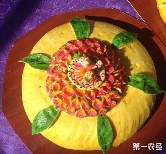 甘肃武威特产:凉州大月饼