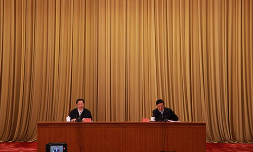 """""""展望十三五""""系列报告会  农业部部长应邀作报告"""