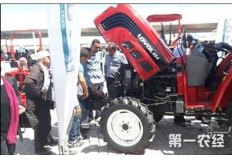 2016摩洛哥国际农业展:中国重工亮相