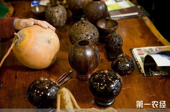椰雕(图片) 海南海口市特产