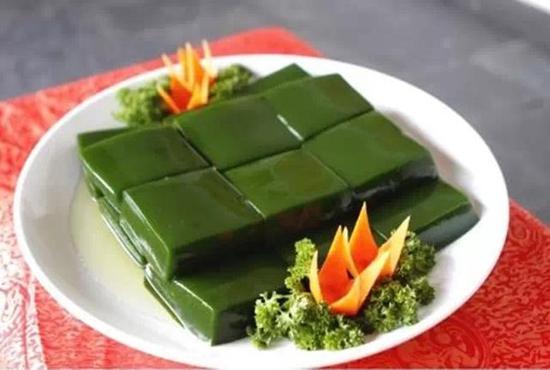 重庆市著名特产:黔江神豆腐