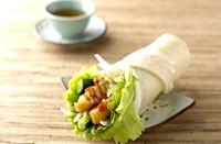 台湾基隆特产:润饼卷