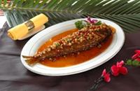 黑龙江双鸭山特产:宝清红烧鱼