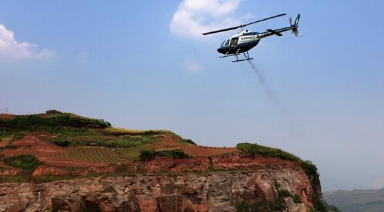 河南省2016年飞播造林20万亩全部完成