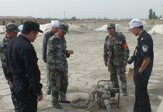 新疆兵团八师149团农业公司二区抓好三秋期间消防安全工作