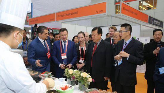 第21届中国国际渔业博览会昨日在青岛召开 为期3天